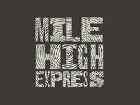 Mile High Express Logo