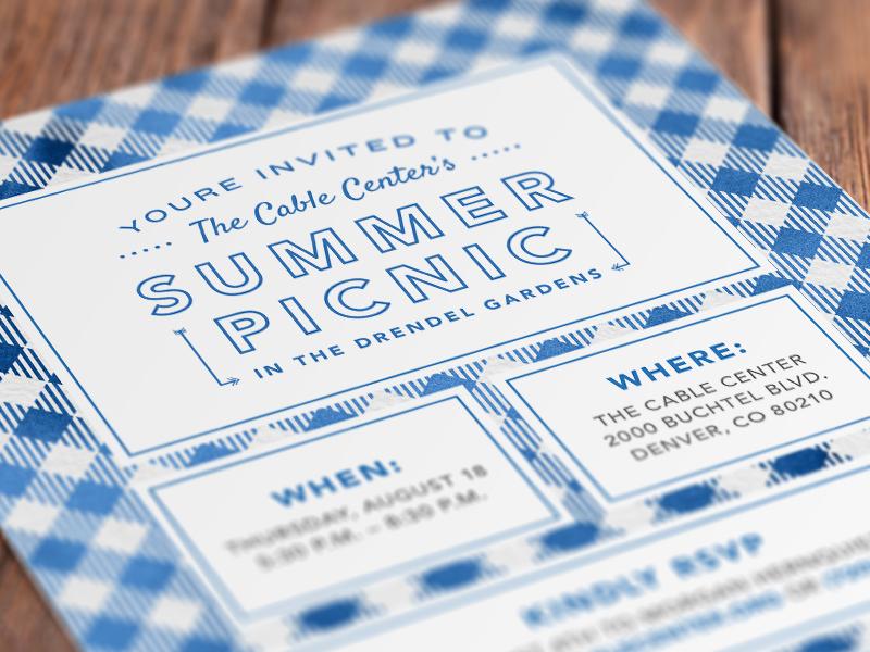 summer picnic invitation snippet by spencer everett dribbble