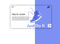 Nike Air Jordan Web Page