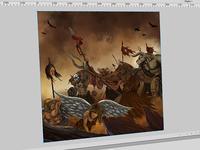 Demons - Digital Paint