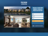 Landing Page for Rossi Atlântida