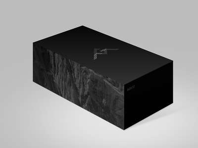 AGM Identity 04 packaging branding logo futura bold smartphone manly identity black
