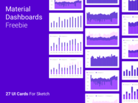 Material Dashboards Freebie