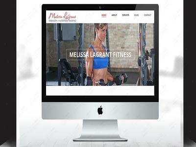 Melissa Lagrant Fitness Website Development