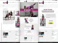 Baby Train Fitness Website Development
