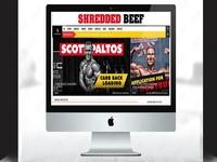 Shredded Beef - Fitness Website Design Services