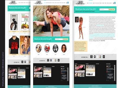 Divini Rae Fitness Website Design