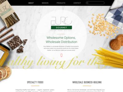 Euro Gourmet Website