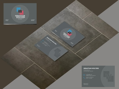 Wolters - Business Card Layout businesscard illustration branding design