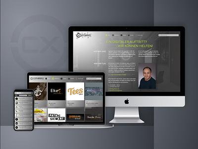 Cyphers X - Portfolio 2019 webdesign portfolio cx website cyphersx