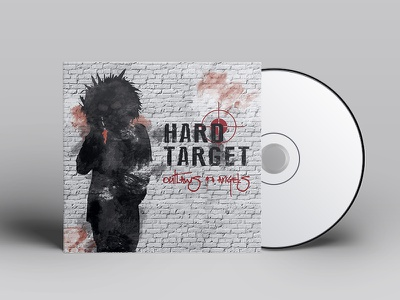Hard Target cover artwork cover art album cover design album cover art album artwork cover design cover artwork