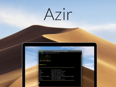 Azir - Console Application csharp app developer web developer console