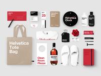 Helvetica Hotel Branding