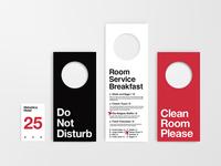 Helvetica Hotel Stationery