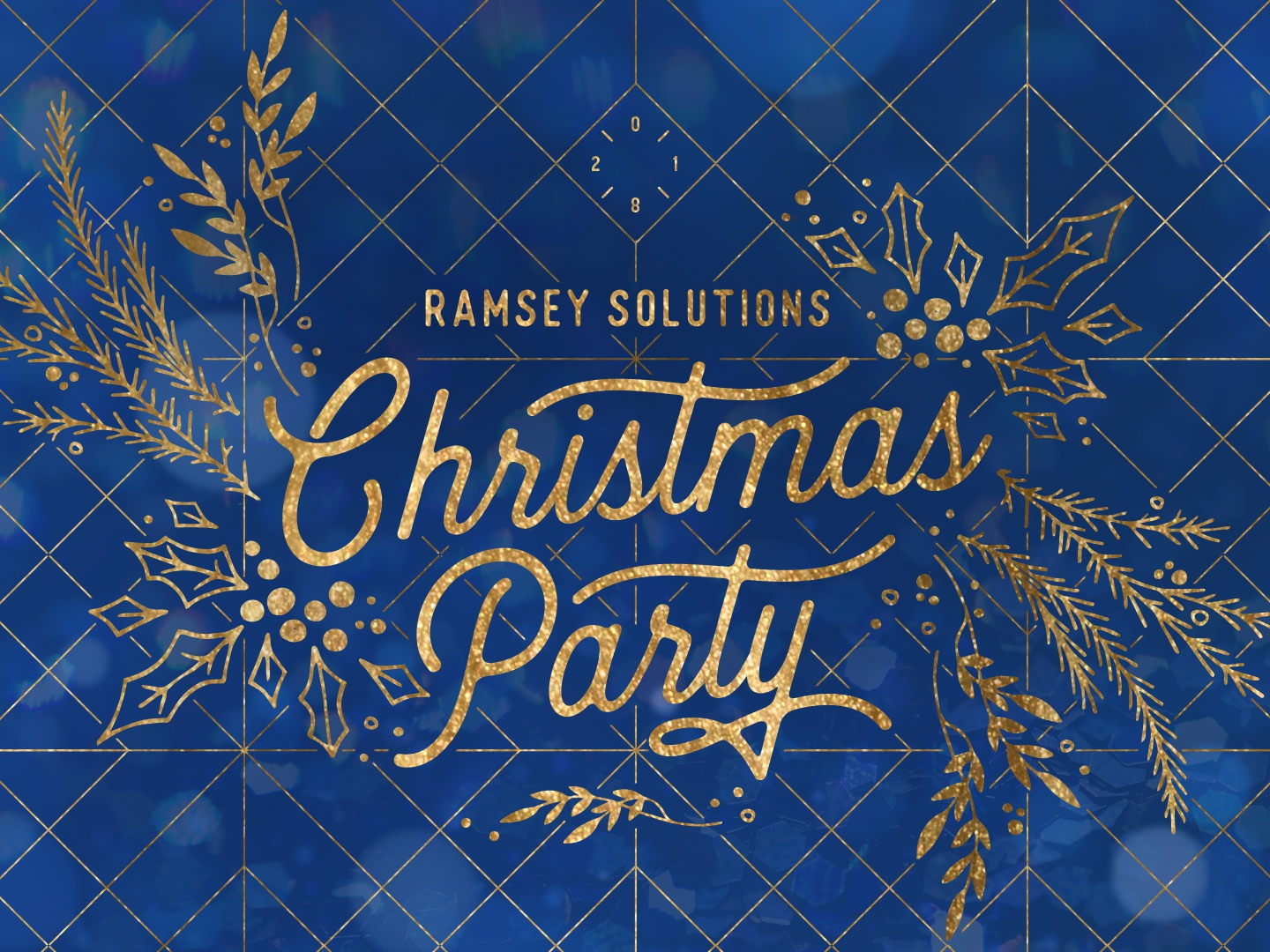 Ramsey Solutions Christmas Party 2020 2018 Ramsey Christmas Party Logo by Dana McCreery for Ramsey