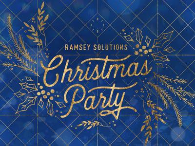 2018 Ramsey Christmas Party Logo