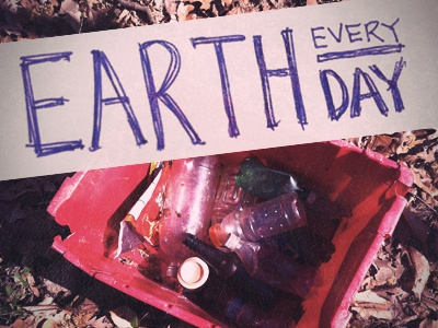 EARTH DAY EVERYDAY - Rebound Me!