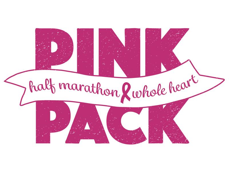 Pink Pack lisa boccard breast cancer fund ribbon charity race marathon breast cancer pink tshirt