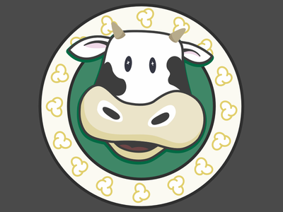 Moovie Popcorn popcorn cow movie