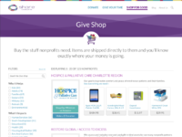 Share give shop