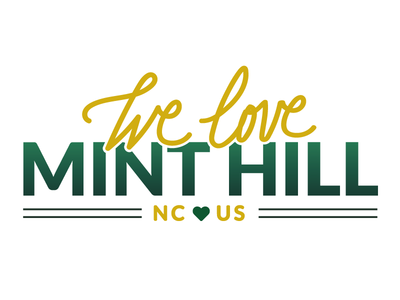 We Love Mint Hill side project hometown logo brand