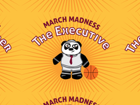 March Madness Campaign (Website, Contest, Illustration)