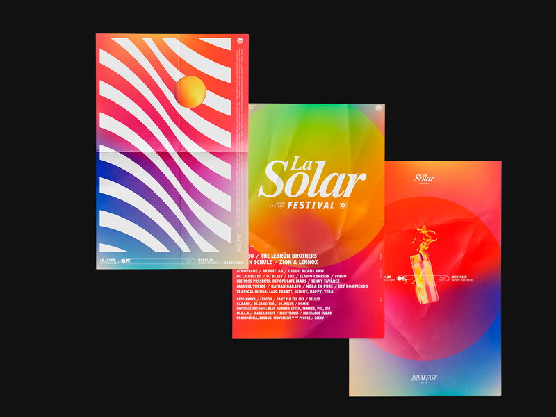 La Solar 2019 | Posters festival art direction design artwork poster