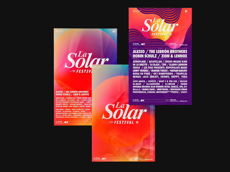 La Solar 2019 | Posters festival design artwork poster art direction