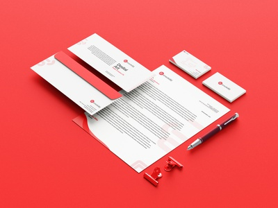 Brand identity minimal brand design solid color envelope letterhead business card graphic design print design stationery logo brand identity