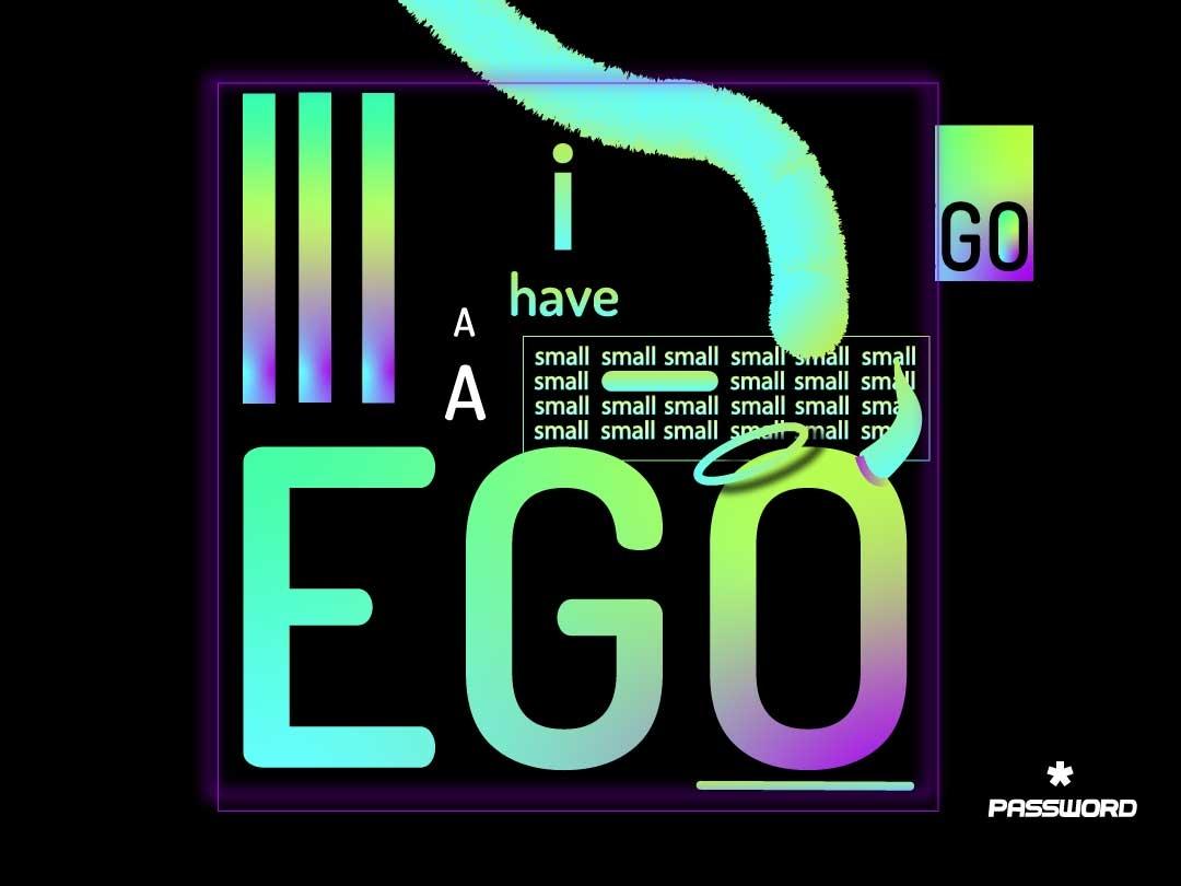 EGO LEGO GO  POSTER password vegasinfinitevibes drawing artist digitalart branding illustrator banner graphic typography artwork posterart graphic designer logo illustration design graphic design art poster art poster