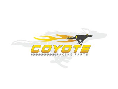 Coyote illustration design branding logo design logo