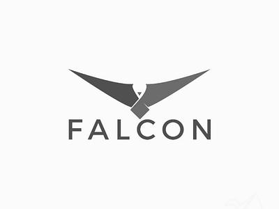 Falcon brand design logo falcon