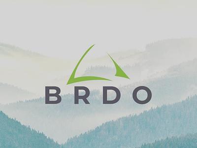 BRDO design logo hill