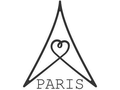 Paris logo concept paris logo city symbol