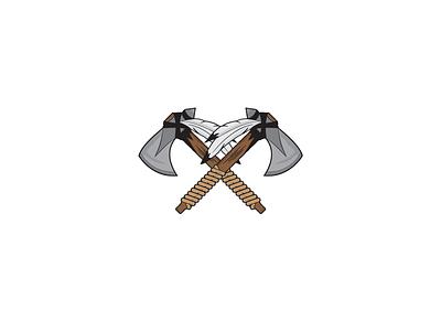 Tomahawk concept vector illustration