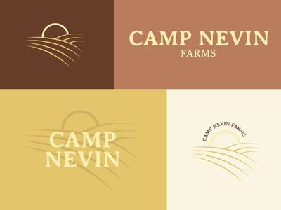 Camp Nevin Farms - Logo Ideation 1 of 3