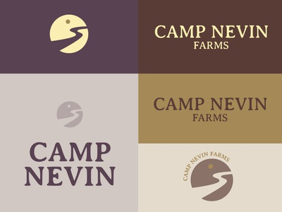 Camp Nevin Farms - Logo Ideation 2 of 3