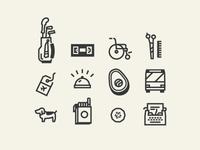 Icon work
