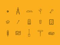 Piedmont icons