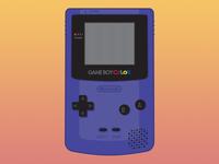 Gameboy Color Vector Illustration