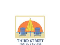 Fun Beach Logo for Family-Friendly Hotel