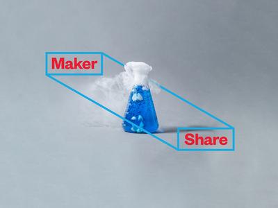 Maker Share Logo Application