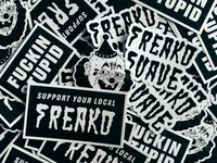 Freako Suave Stickers