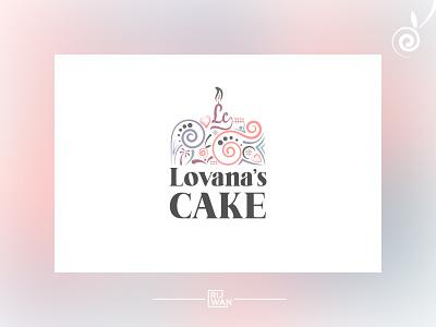 Complex & flat cake logo branding flat logo logo design minimalist logo detailed trendy logo trendy flat desig flat logo complex colorful colorful logo pink logo pink cake logo cake