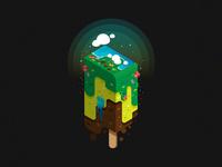Beach Popsicle