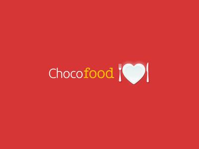 ChocoFood logotype logo branding logotype