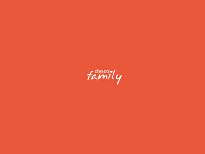 Chocofamily logo for fun logo