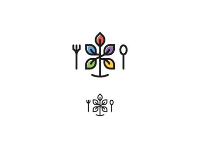 Logo for family cafe branding logo