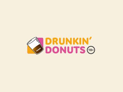 Humor humor donuts logo