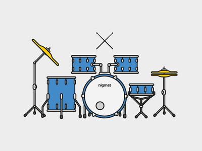 drums illustration illustration